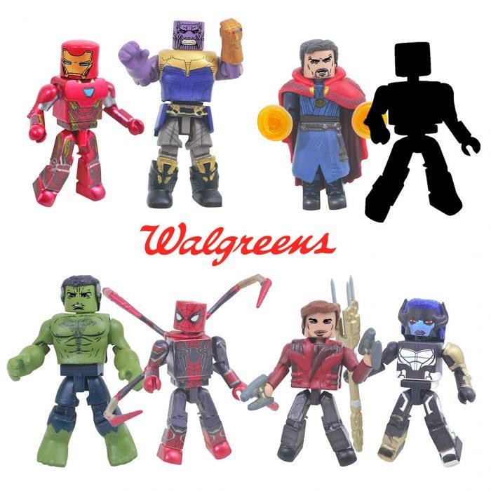 Avengers Infinity War Minimates