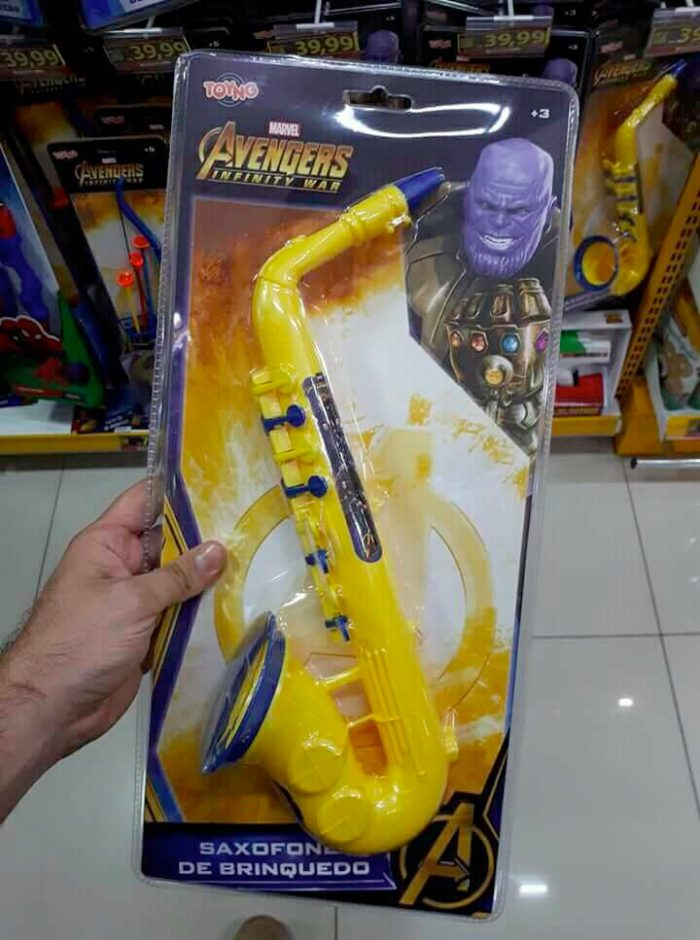 Avengers: Infinity War - Thanos Saxophone