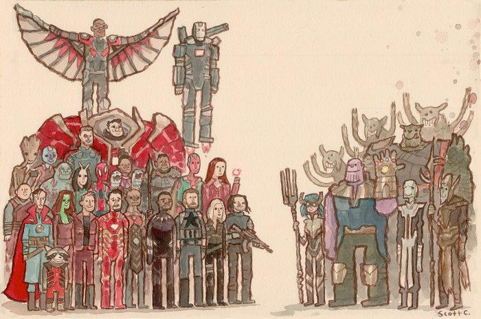 Avengers: Infinity War - Great Showdowns by Scott C.
