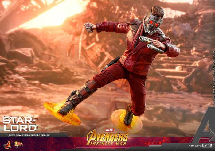 Avengers Infinity War - Star-Lord Hot Toys Figure