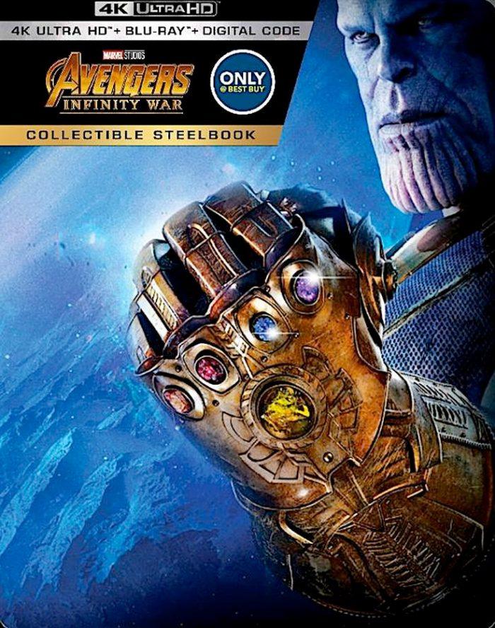 Avengers Infinity War Steelbook
