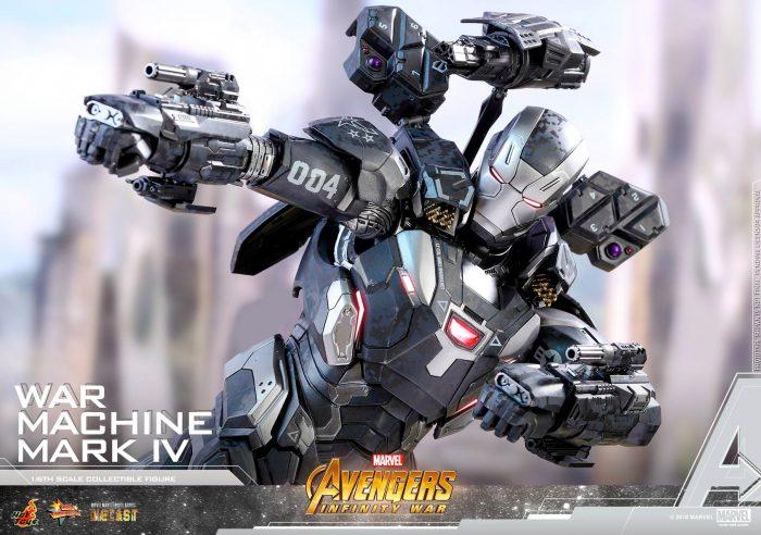 Avengers Infinity War - War Machine Hot Toys