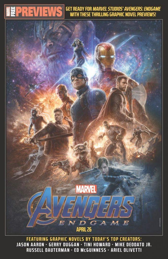 Avengers Endgame Marvel Previews
