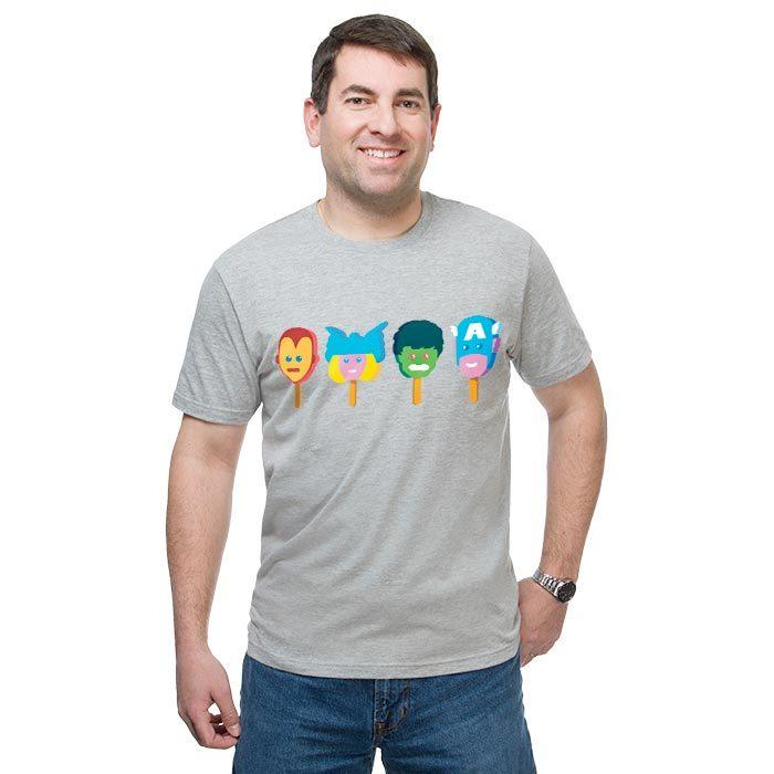 Avengers Popsicle Shirt
