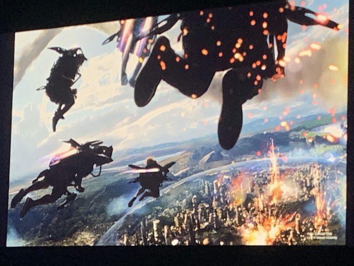 Disneyland Avengers Quinjet Ride