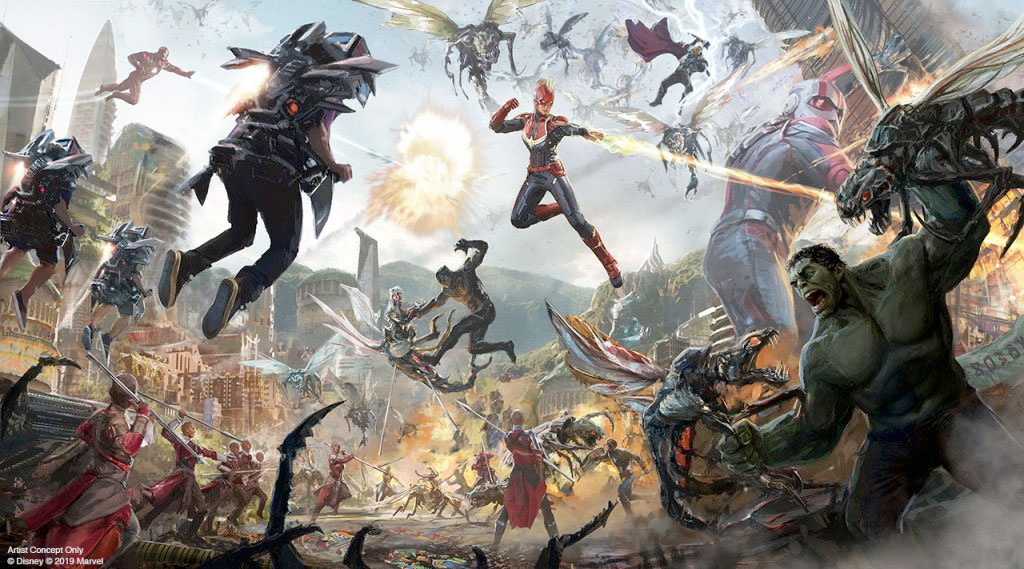 """Disney's 'Avengers' Ride System Will Be """"Something That We've Never Seen Before"""""""