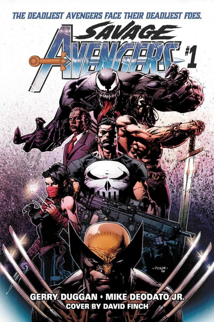 Savage Avengers Issue #1