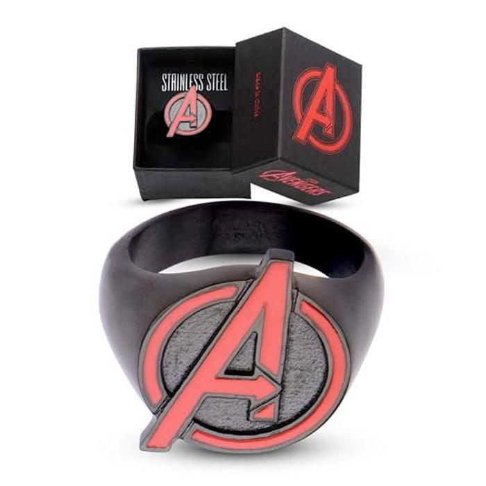 Avengers Stainless Steel Ring