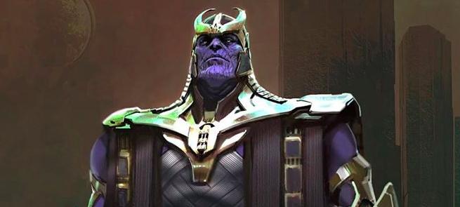 Avengers: Endgame - Thanos Concept Art