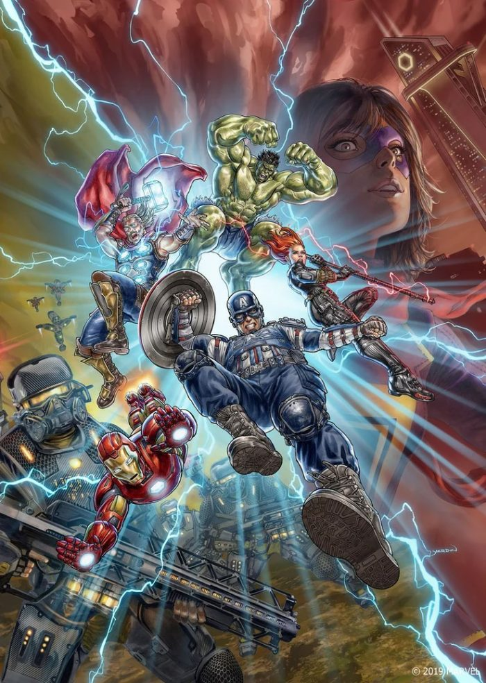Avengers Video Game Poster
