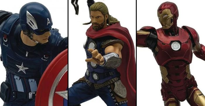 Avengers Video Game Statues