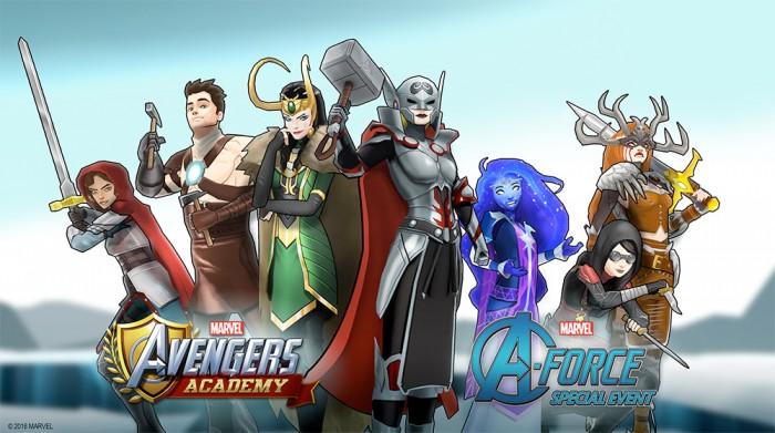 Avengers Academy Fantasy Garb