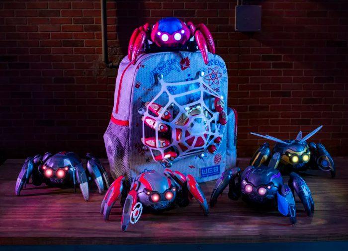 Avengers Campus Details - Spider-Bots