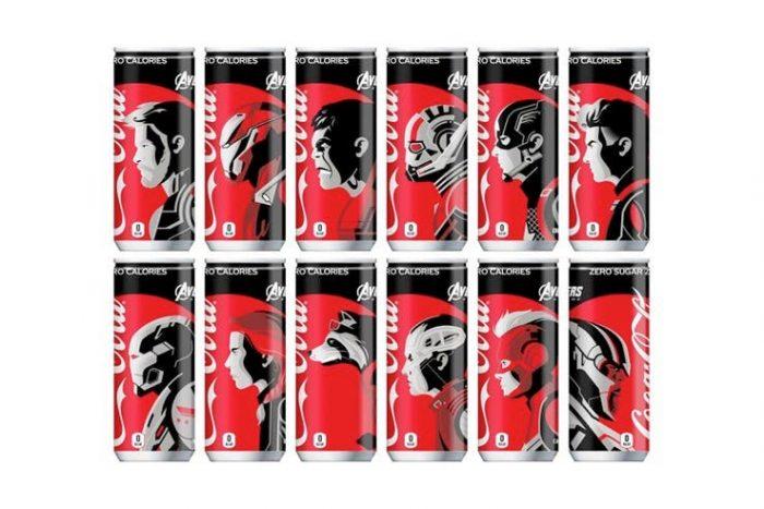 Avengers Endgame Japanese Coke Cans