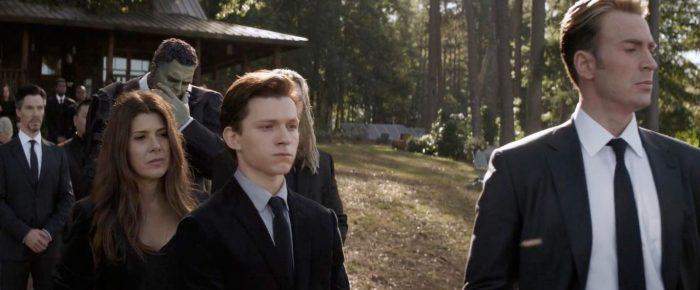 Avengers Endgame - Funeral