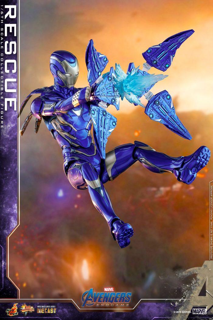 Avengers Endgame - Rescue Hot Toys Figure