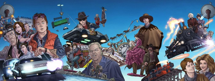 Back to the Future comic book series