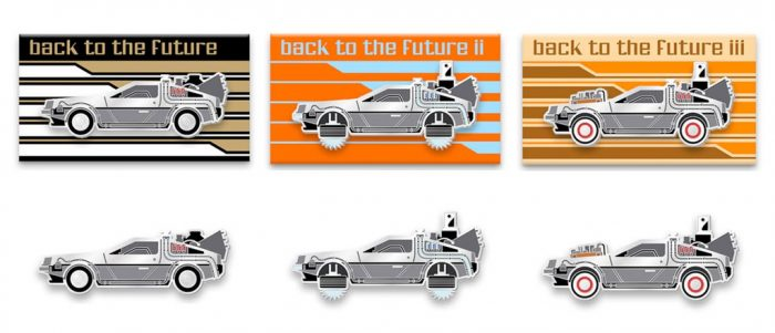 Back to the Future Enamel Pins
