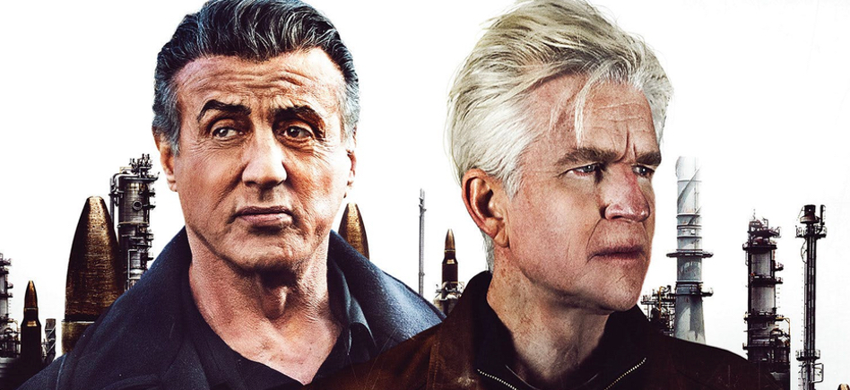 Backtrace Trailer: Sylvester Stallone Chases A Bank Robber