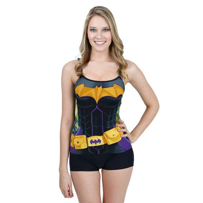 Batgirl Cami Set