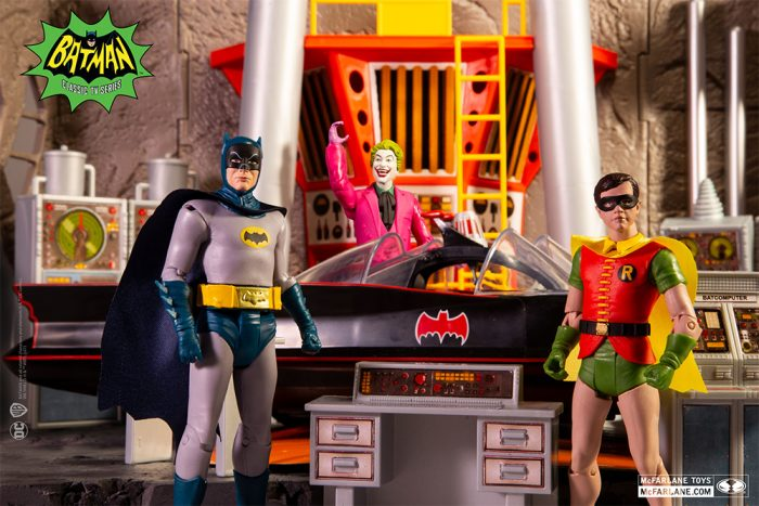 McFarlane Toys 1966 Batman Action Figures