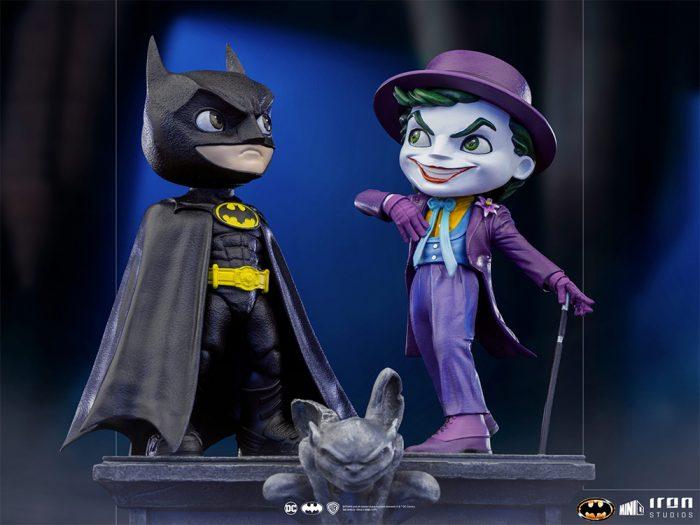 Batman 1989 - Minico Statues