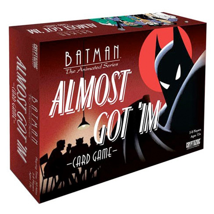 Batman The Animated Series Card Game