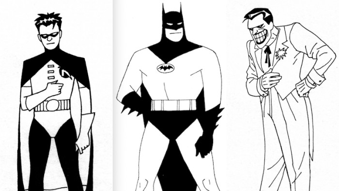 Batman: The Animated Series Early Designs