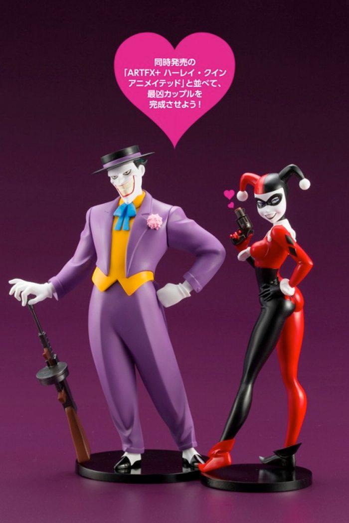 Batman The Animated Series Kotobukiya Statues - Harley Quinn and The Joker