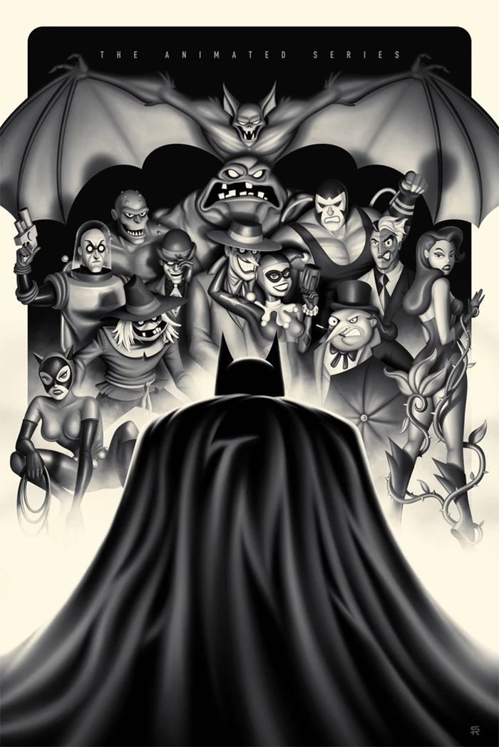 Batman: The Animated Series by Steven Reeves