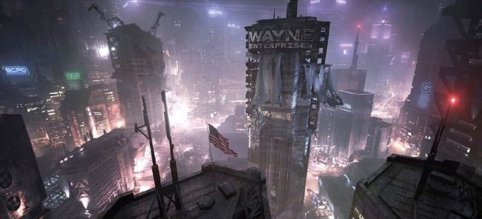 Batman Arkham - Abandoned Game Concept Art