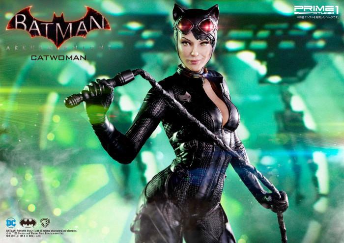 Batman Arkham Asylum - Catwoman Statue