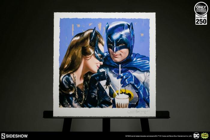 Batman and Catwoman Sweet Shoppe