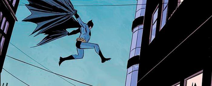 Batman Chasing Road Runner
