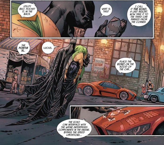 Batman Comic - Batmobile Device