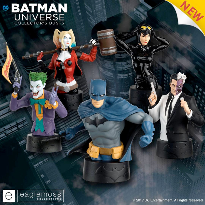 Batman Universe Collector's Busts - Eaglemoss
