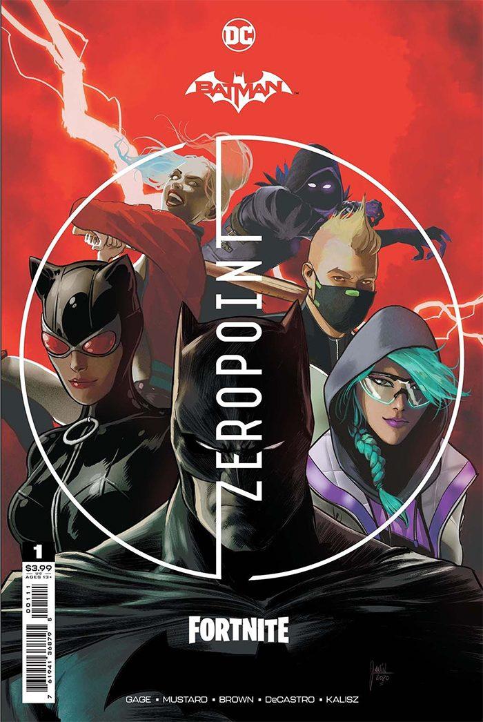 Batman and Fortnite Comic