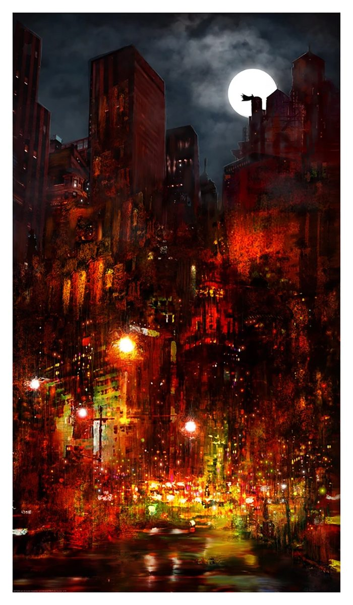 Batman - Red City - Mark Chilcott