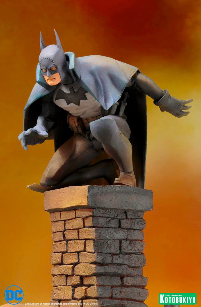 Batman: Gotham by Gaslight Statue