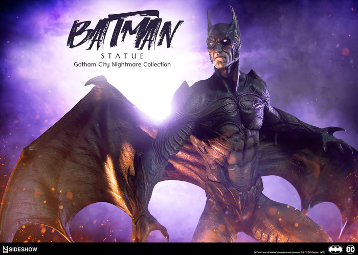 Batman - Gotham City Nightmare Statue