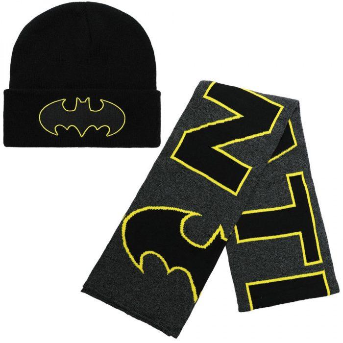 Batman Hat and Scarf Set