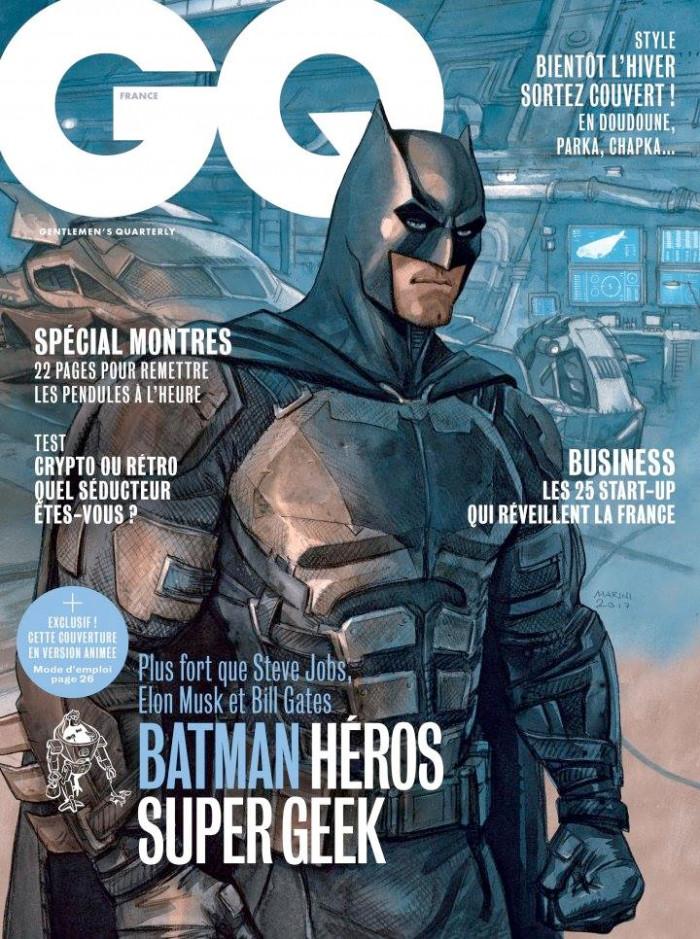 Batman - GQ Cover