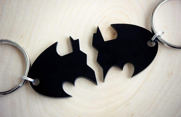 Batman Split Keychain