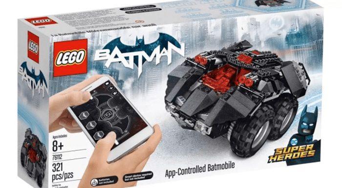 Remote Controlled LEGO Batman Batmobile
