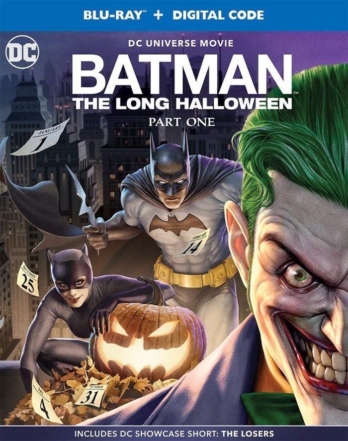 Batman: The Long Halloween - Blu-ray Cover