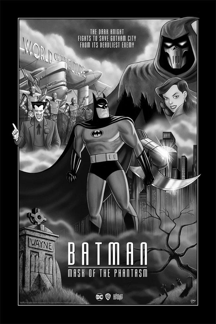 Batman: Mask of the Phantsm by Sam Gilbey
