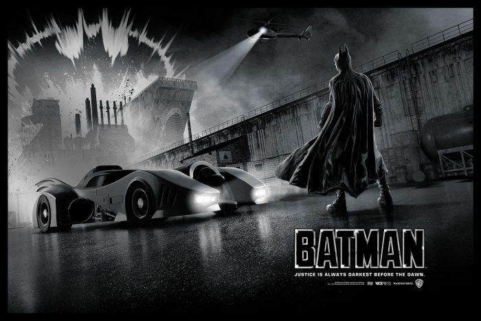 Matt Ferguson Batman Poster