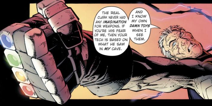 Batman Metal - Kryptonite Glove