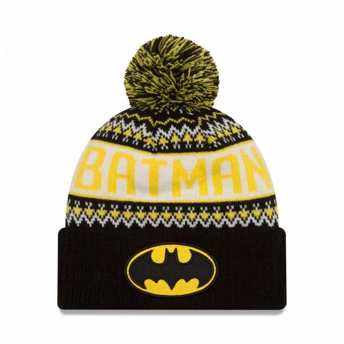 Batman Pom Pom Beanie