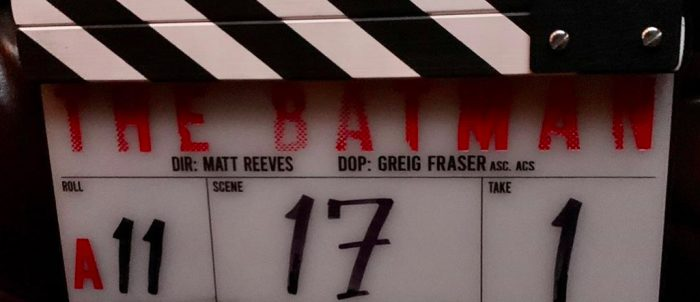 The Batman Production Begins